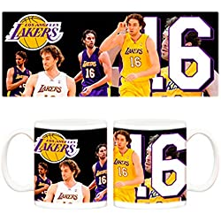Taza Los Angeles Lakers Pau Gasol NBA