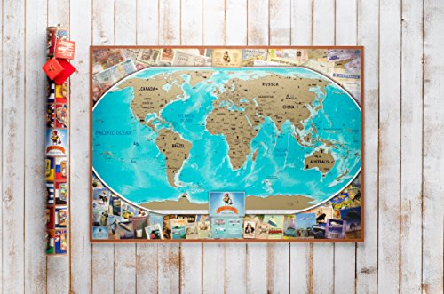 carte du monde gratter dition vintage poster planisph re gratter personnalis poster. Black Bedroom Furniture Sets. Home Design Ideas