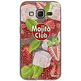 Mocca Design CSA068 Coque crystal pour Samsung Galaxy Core Prime Motif Mojito Rouge