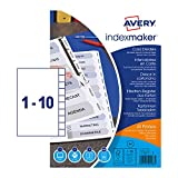Best Avery Dividers - Avery 01816061 A4 IndexMaker Unpunched Dividers with Printable Review