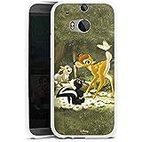 HTC One M8 Silikon Hülle Case Schutzhülle Disney Bambi Merchandise Fanartikel