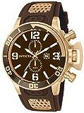 Best Invicta Diving Watches - Invicta Corduba Men's Chronograph Quartz Watch with Polyurethane Review