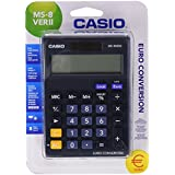 Casio MS-8VERII-S-EC - Calculadora sobremesa, 31.7 x 103 x 145 mm, color azul marino