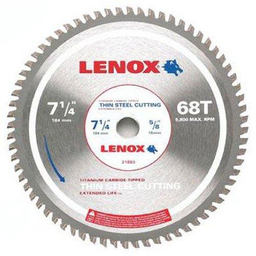 Lenox Tools Kreissägeblatt, steel-cutting, 20,3cm, 50T (21884st800050ct), 21883TS714068CT
