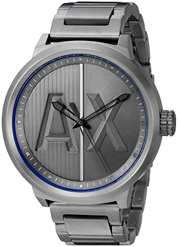 511 xfDaIhL - Armani AX1362 Atlc Gunmetal Mens watch