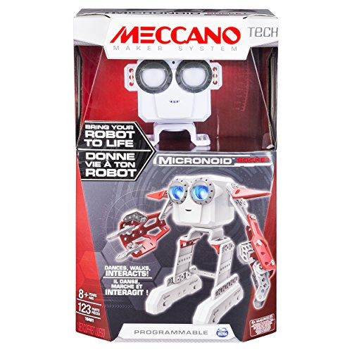 MECCANO-MICRONOID-RED-SOCKET