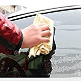 #6: UNKE Natural Chamois Leather Car Cleaning Towels Drying Washing Cloth