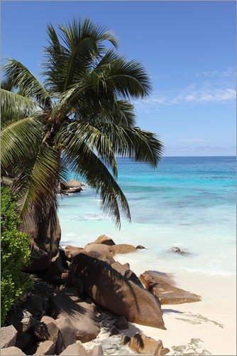 Poster 100 x 150 cm: Republic of Seychelles, sanfter Tourismus, Indischer Ozean, Tropical Island von...