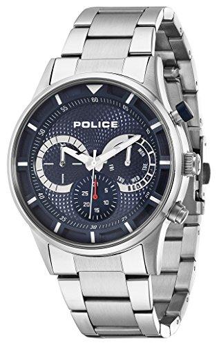 Police Herren-Armbanduhr Analog Quarz P14383JS-03M