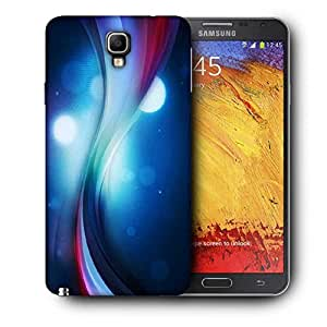 Snoogg Blue Pathway Printed Protective Phone Back Case Cover For Samsung Galaxy NOTE 3 NEO / Note III