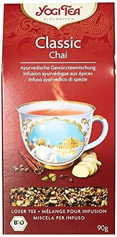Yogi Tea Thé Chai en Vrac Bio 90 (Garofano Lei)