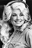 Moviestore Dolly Parton 91x60cm Schwarzweiß-Posterdruck