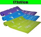 Axersport, Yogamatte Gymnastikmatte Matte, green, 61x173x0,3cm