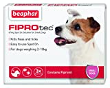 Best Flea And Tick Prevention For Dogs - Beaphar FIPROtec Spot on Small Dog 3 Pipettes Review