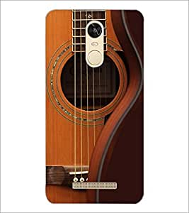 Printdhaba Guitar Strings D-5897 Back Case Cover For Xiaomi Redmi Note 3 Pro