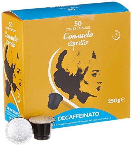 Consuelo Nespresso* kompatible Kapseln   - Koffeinfrei, 50 Kapseln