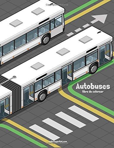 Autobuses libro de colorear 1: Volume 1