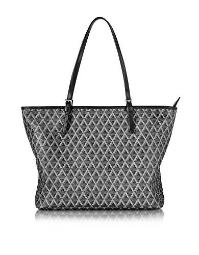 lancaster-paris-womens-41804noir-black-fabric-tote