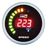 Raid HP 660541 Zusatzinstrument Tachometer Serie Night Flight Digital Red