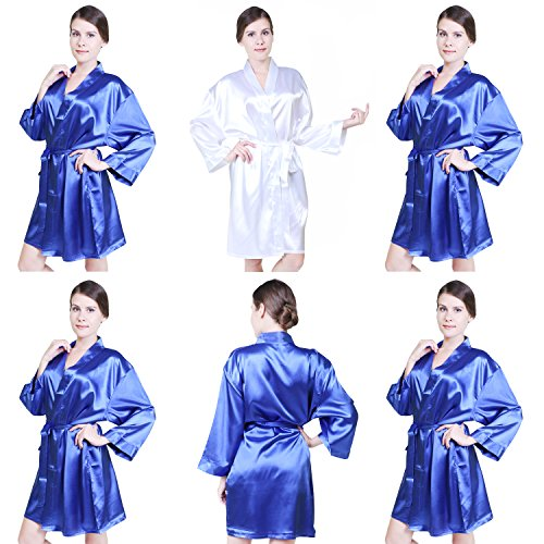 keynis - Vestaglia -  donna blu zaffiro