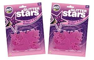 The Original Glowstars Company - Pegatinas para Pared y Cristal (Brainstorm B8989) Importado de Inglaterra