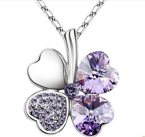 femme-cristal-collier-trefle-a-quatre-feuilles-porte-bonheur-cristal-et-chaine-chaine-18-inches-en-p