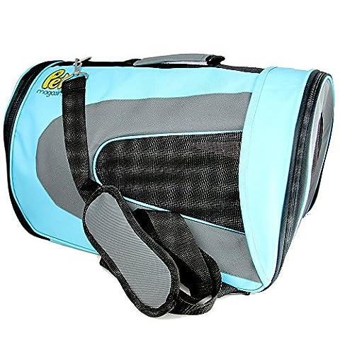 Luxus Weiche Seite Katzen Tasche [Von Fluggesellschaften TSA zugelassen] - Tier Reise Tragbar Transportbox für, Katzen, kleine Hunde und Welpen von Pet (Hund Pet Carrier)