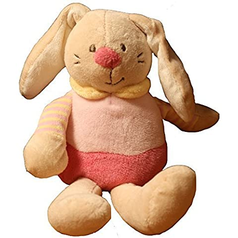 Beam Feature Floppy Rabbit, 20Cm, Pink by