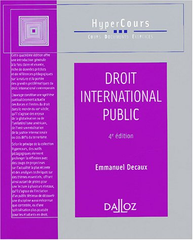 Droit international public par