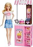 Barbie Mattel Bakery Owner (Doll & Playset) (Dmc35)