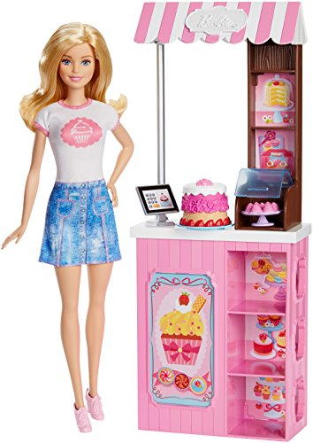 Mattel Barbie - Bakery Owner (Doll & Playset) (Dmc35) Barbie-puppen Aus Schottland
