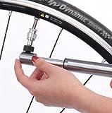 Mini-Fahrradpumpe, Push-Portable Basketball Fußball Luftpumpe