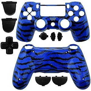 GAMINGER Austauschgehäuse für Sony PlayStation 4 Dualshock 4 Controller Schale Shell Case Housing Kit Hülle Set Skin Zubehör Custom Mod Tuning –