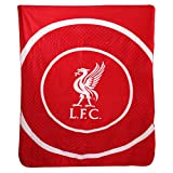 Liverpool 'Bullseye' Fleece Blanket (125cm x 150cm)