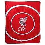 Liverpool 'Bullseye' Fleece Blanket (125cm x 150cm)