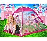 MEDIAWAVE Store Tenda da gioco principessa fatata 112x112x79 cm castello per bambine Linea Cigioki