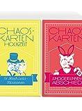 Chaoskarten Hochzeitsspiel – Kombipack – Junggesellinnenabschied JGA + Hochzeitsspiel – Das Original