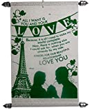 Love Gifts For Wife - Love Scroll Greeting Card