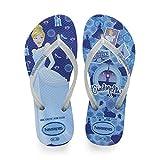 Havaianas Kids Slim Princess, Infradito Unisex Bambini, Multicolore (Blue Star 3847), 33/34 EU