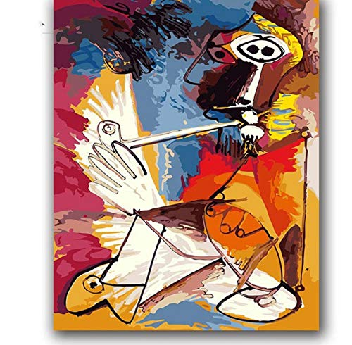 Diamant malerei kit 5d DIY Picasso abstrakte Musik malerei öl DIY Bild 30x40 cm -
