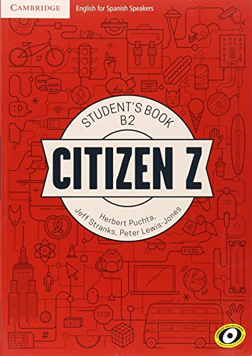 Citizen Z B2 Student's Book with Augmented Reality por Herbert Puchta, Jeff Stranks, Peter Lewis-Jones