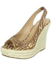 Via Uno Textil Synthetic Zebra Padova 21173601 - Sandalias de tela para mujer
