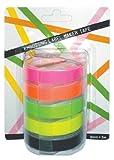 Motex Fluoro Packung Prägeetikett-Band, 9 mm x 3 m