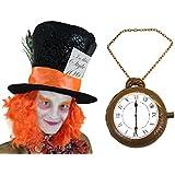 Disfraz del Sombrerero loco, incluye collar inflable y sombrero