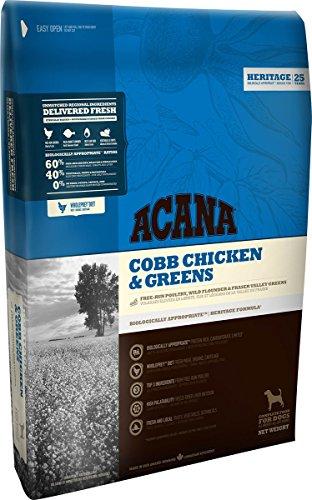 ACANA Cobb Chicken & Greens Comida para Perro 2kg 1 Saco