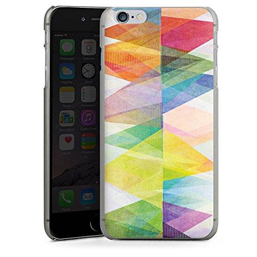 Apple iPhone 5s Housse Étui Protection Coque Motif Motif couleurs CasDur anthracite clair