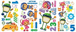 RoomMates 539011 Sticker Multi-Éléments Repositionnables Team Umizoomi Vynil