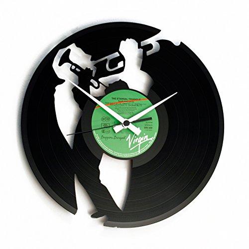 Disc'O'Clock Orologio in Vinile Jazz