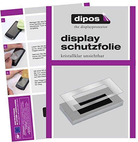 dipos I 2X Schutzfolie klar passend für Jura A-Serie A1 A5 A7 A9 Tropfblech Folie Displayschutzfolie