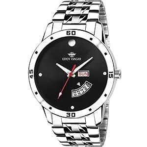 Eddy Hager Analogue Black Men's Watch - EH-210-BK